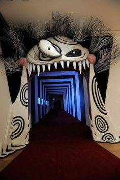 Tim Burton's hall of art so want to go