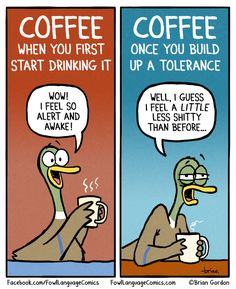 With my comic, Fowl Language, I try to find inspiration in whatever I'm obsessing over or frustrated by on any given day. http://fowllanguagecomics.com/