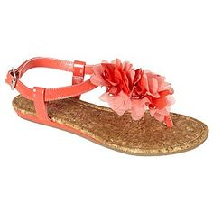 $15 up to size 11 Women's Sandal Malibu - Coral