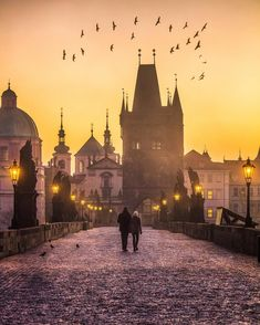 Tag someone to walk here with!  If you ever find yourself awake in Prague before…