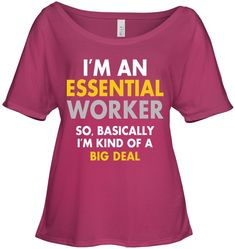 I Am An Essential Worker Cool Gifts For Women Slouchy Tee Gifts Fashionable Slouchy Tee Sayings For Women Cool Gifts For Women, Tees For Women, Clothes For Women, Funny Women Quotes, Funny Sayings, Cool Shirts, Funny Shirts, Funny Iphone Cases, Sarcastic Shirts