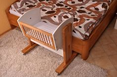 Baby Bassinet Attaches to Bed Unique — Very Great Interior Idea Co Sleeper Bassinet, Baby Co Sleeper, Baby Bassinet, Baby Crib Diy, Baby Cribs, Bedside Bassinet, Baby Bedroom, Baby Needs, Baby Furniture