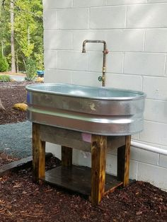 How to build your own kitchen sink base do it yourself wood image result for livestock tub trough as sink solutioingenieria Gallery