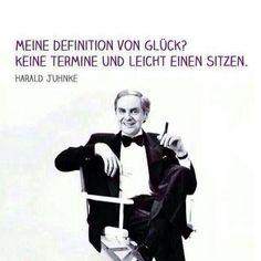 Harald Juhnke's Definition von Glück | – Lustige Bilder, Lustige Videos und Picdumps die dich zum Lachen bringen – Humor