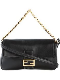 Shop designer Fendi bags and purses online now at Farfetch. Browse hundreds of boutiques for new season Fendi handbags, shoppers & totes Shoulder Strap Bag, Fendi Bags, Shopper Tote, Simple Outfits, Shoulder Handbags, Purses And Bags, Shoe Bag, Polyvore, Baguette