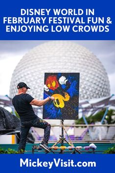 Disney World in February 2021: Festivals, Dry Weather, Ideal Crowd Levels