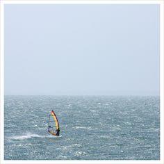 Windsurfing in Paros #fun #paros #100happydays #getmotivated #windsurfing