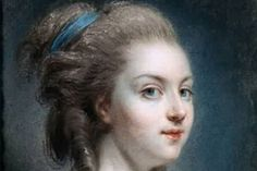 "18th-century French courtesan Rosalie Duthe, history's original ""dumb blonde."" (Wikimedia Commons)"