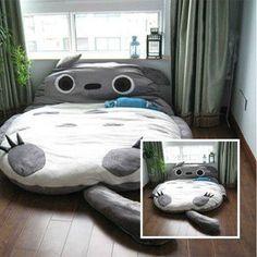 Totoro models 230*175CM Totoro Double bed sleeping bag sofa large gift For Kid on Wanelo