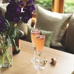 For a sweet celebration. Find the #recipe on Pinterest. #SparklingStrawberryLemonade #foodoftheday #yumyum #sharefood #tagforlikes #lunch