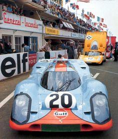 Jo Siffert / Brian Redman, #20 Porsche 917K (John Wyer Automotive Engineering), 24 Hours Le Mans 1970 (DNF)