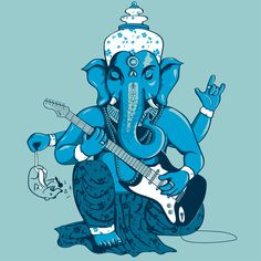 Ganesha rocks ! (v3) by Savousepate on DeviantArt