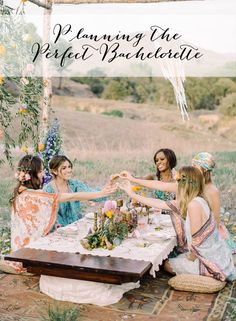 Bar scene not your bride's scene?  Check out  the blog for How to's : Plan the Perfect Bachelorette  #thestyledbride #bacheloretteparty #styledadvice