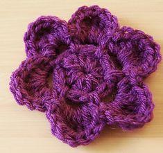 Ravelry: Easy Crochet Flower Pattern pattern by Jayna Grassel