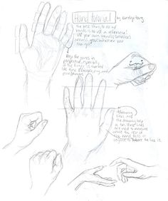 HANDS tutorial by *burdge-bug on deviantART Drawing Techniques, Drawing Tips, Drawing Reference, Drawing Sketches, Art Drawings, Drawing Hands, Sketching, Drawing Stuff, Drawing Ideas