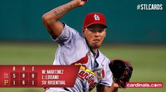 Martinez helps the STL Cards secure series win vs. the Pirates.  6/11/2016