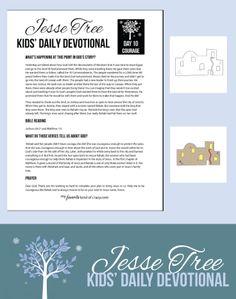 Crazy Kids Bible Devotional: Jesse Tree Day 10 | My Favorite Kind of Crazy