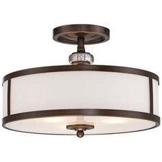 "Thorndale 15"" Wide Dark Noble Bronze Ceiling Light -"