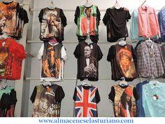 El estilo urbano nunca dejará indiferente a nadie, para muestra estas camisetas... tenemos amplia variedad de diseños.