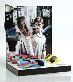 Play with colors! Black, Fuchsia, Orange, Yellow, Turquoise. The new sunglasses collection by URBAN TRIBE.