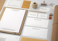 Examples of Minimal Branding & Identity | Lenus.me