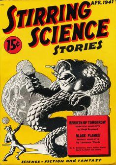 Hannes Bok, Stirring Science Stories 41-04.