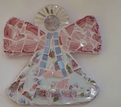 Mosaic Angel by SherrysShards