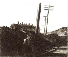 Au fil de mes pas: Sous la palette d'Edward Hopper