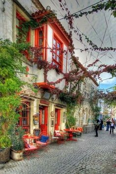 A colorful cafe in Izmir, Turkey. Izmir is a large metropolis in the western extremity of Anatolia and the third most populous city in Turkey, after Istanbul and Ankara.