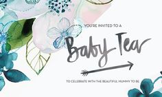 Baby Shower Design by P I X E L + heart Co. // for a special mumma to be