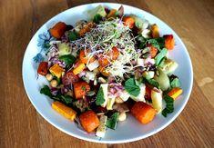 Knakwortel recepten Fruit Salad, Cobb Salad, Sushi, Food, Salads, Fruit Salads, Essen, Meals, Yemek