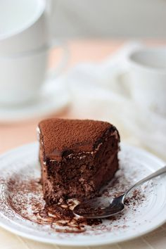 bakeddd:  flourless chocolate cake click here for recipe