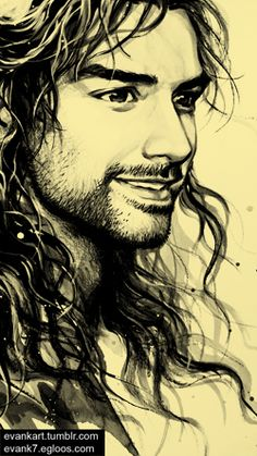 That is one of the most majestic pictures of Kili I have EVER SEEN. Whoever drew that picture; Kili is eternally in gratitude to you. I shall go show it to him immediately.