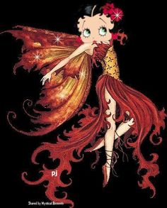 Betty boop on Pinterest   Medium, Fairies and Motorcycle Babes