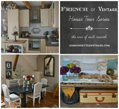 French Vintage House Tour - The Poor Sophisticate | So Much Better With Age