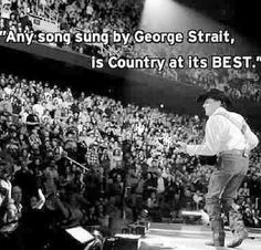 Eric Church song. George Strait truly sings the best songs
