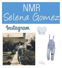 """""""Outfit #686"""" by nmr135 ❤ liked on Polyvore featuring BDG, Kimchi Blue, NIKE, StreetStyle, denim, selenagomez, instagram and nmr"""