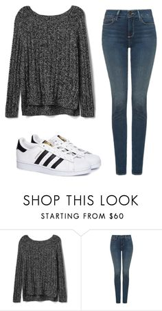 """""""Casual Heat"""" by irishdancer514 ❤ liked on Polyvore featuring Gap, NYDJ and adidas"""