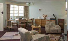1930s lounge - Geffrye Museum