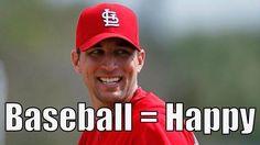 Baseball = Happy