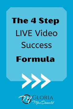 If you're not using the Simple 4-Step Formula I'm going to share with you today, you're probably making these mistakes and MISSING OUT!  If you want to have a whole new sense of confidence and comfort and know your LIVE videos are hitting the