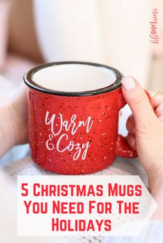 There is something so fun about pulling out all your Christmas decor and filling your home with all things festive. Whether you're a coffee or cocoa drinker, these Christmas mugs are a must have for this holiday season.