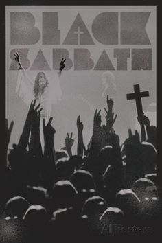 Black Sabbath (Cross) Posters at AllPosters.com