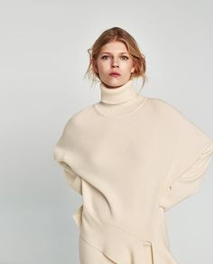 SWEATER WITH BOW-TRENDING NOW-WOMAN | ZARA United States
