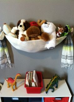 DIY Stuffed Animal Storage - A Stuffed Animal Sling