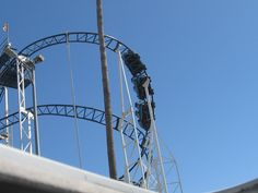 Fun Tour Guru Goes Off the Beaten Path: At the Top: Santa Cruz CA Beach Boardwalk Roller Coaster