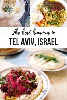 Looking for the best hummus in Tel Aviv? From traditional hummus to creative dishes made by the Beyoncé of hummus, these are the best hummusiya in Tel Aviv, Israel!    #TelAviv #foodietravel #Israel #hummus