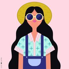 Wallpaper Pc, Cartoon Wallpaper, Graphic Design Posters, Graphic Art, Ely, Little Girl Illustrations, Hello Beautiful, Art Inspo, Illustrators