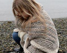 CROCHET patrones Coastlyn manta única talla por Thevelvetacorn