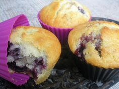 Chic, chic, chocolat...: Muffins aux mûres